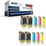 10x kompatible Tintenpatronen für Epson Workforce 525 Workforce 630 Workforce WF3010 DW WF3520 DWF WF3530 DTWF WF3540 DTWF Black Cyan Magenta Yellow Sparset C13 T1301 C13 T1302 C13 T1303 C13 T1304 - Color Office Serie
