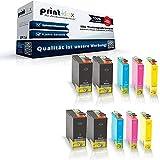 10x kompatible Tintenpatronen für Epson Stylus Office BX 635 FWD BX 925 FWD BX 935 FWD Epson Stylus SX 525 WD SX 535 WD SX 620 FW Black Cyan Magenta Yellow - T 1301 T 1302 T 1303 T 1304 - Color Quantum Serie