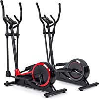 Preisvergleich für Hop-Sport Elliptical Crosstrainer HS-050C Frost Ellipsentrainer Pulsmessung 32 Widerstandsstufen 12 Trainingsprogramme Schwungmasse 14,5 kg belastbar bis 120 kg