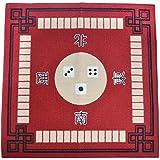 Gazechimp Tapis de Mahjong en Non-tissé Silencieux Antidérapant Accessoires pour Jeux de Société - 79x79cm