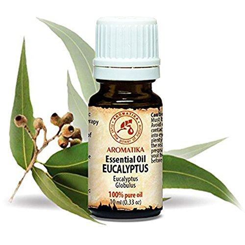 Eukalyptus Öl 100% Naturreines Ätherisches 10ml - Eucalyptus Globulus - China - Besten Für Beauty - Sauna - Aromatherapie - Aroma Diffuser - Duftlampe - Eukalyptusöl -