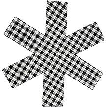 Protectores de sartén juego de 8, ollas y sartenes separador antideslizante para evitar los arañazos