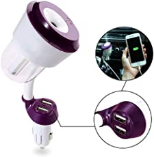 BAWALY Quirk Car Usb Charger With Humidifier