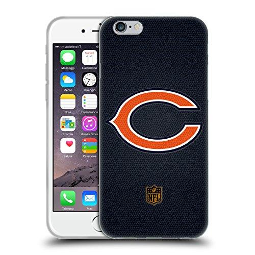 Head Case Designs Offizielle NFL Fussball Chicago Bears Logo Soft Gel Hülle für Apple iPhone 6 / 6s