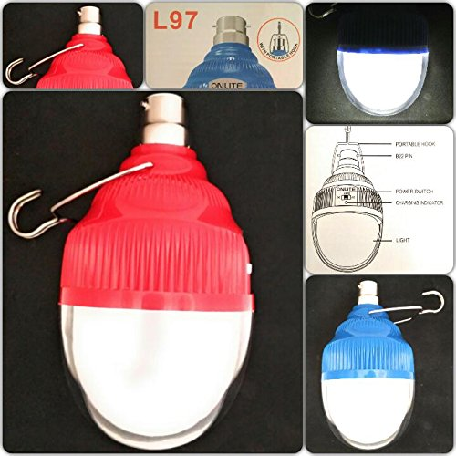 Supermall Imported New Onlite Led AC/DC 25 Watts BULB 40 LED SMD Rechargeable Emergency Light Lamp Bulb AC/DC Best Quality (Multi-color)  available at amazon for Rs.299
