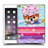 Head Case Designs Offizielle Boo-The World's Cutest Dog Zeit Zum Baden Charakter Kunst Soft Gel Hülle für iPad Air 2 (2014)
