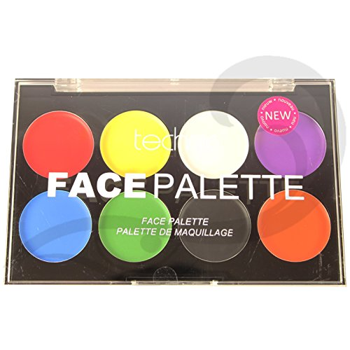 Technic White Foundation Sahne Gesicht Paint or Pulver Halloween Goth MakeUP