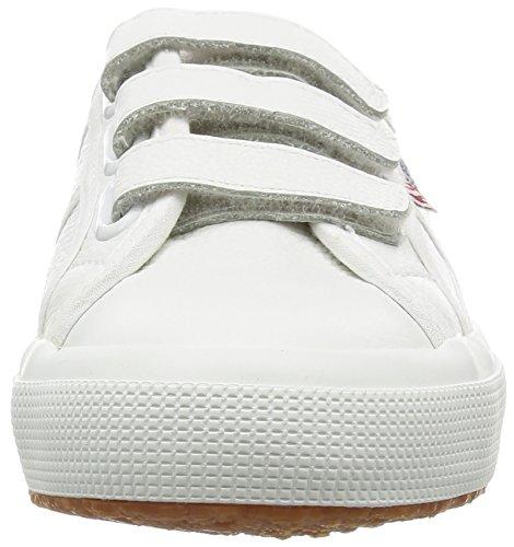 Superga 2750-efgl3velu, Sneaker a Collo Basso Unisex-Adulto Bianco