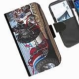 Hairyworm- Traktoren Seiten Leder-Schützhülle für das Handy Blackberry Z3