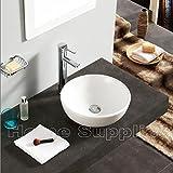 Ciotola di ceramica per piano bagno/lavabo