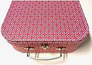 Sass and Belle Koffer/Kinderkoffer/Puppenkoffer/Aufbewahrungsbox. Pappkoffer, 3 Verschiedene Größen. (Marokkan