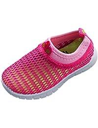 Malloom bebé niño niña Zapatos Caramelo Color Tela Malla Casual Sport ventilar Zapatillas Sneakers