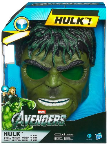 Avenger: Hulk Elektronische Light-Up Maske (My Little Pony Maske)
