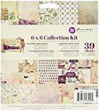 """Prima Marketing 584405 French Riviera Collection Kit, 6"""" by 6"""", Multicolor"""
