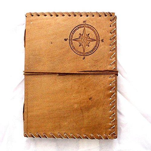 Leder Tagebuch, handgefertigt echtem Hunter Leder & Handarbeit Papier Tagebuch, Hartford -