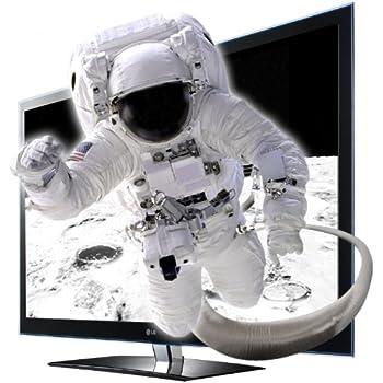 LG 47LW4500 119 cm (47 Zoll) Cinema 3D LED-Backlight-Fernseher  (Full-HD, 400Hz, DVB-T, DVB-C, CI+) schwarz