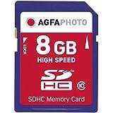 AgfaPhoto Carte mémoire SDHC Class 10 8 Go