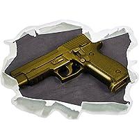 Sig Sauer pistola nero / bianco, carta