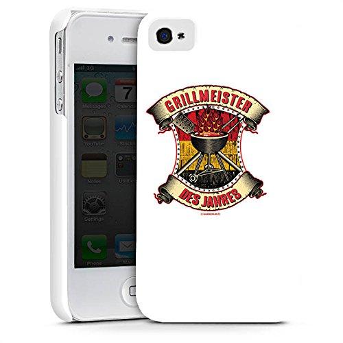 Apple iPhone X Silikon Hülle Case Schutzhülle BBQ Grillmeister Grillsaison Sommer Premium Case glänzend