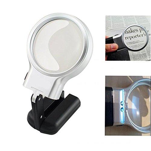 Preisvergleich Produktbild Careshine faltbare Beleuchtung Vergrößerungsglas Lupe mit LED Licht
