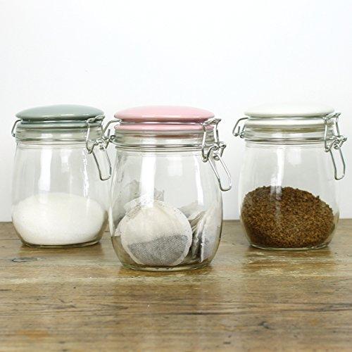 Thé Café et sucre Bocaux en verre