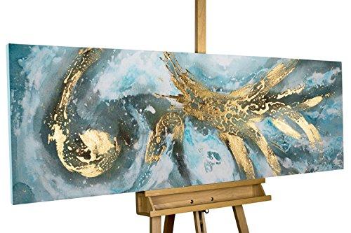 KunstLoft® Acryl Gemälde U0027Enigmau0027 150x50cm | Original Handgemalte Leinwand  Bilder XXL | Bunt