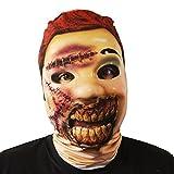 verwest Zombie Puppe Gesichtsmaske Halloween Kostüm Erwachsene unheimlich Lycra Horror