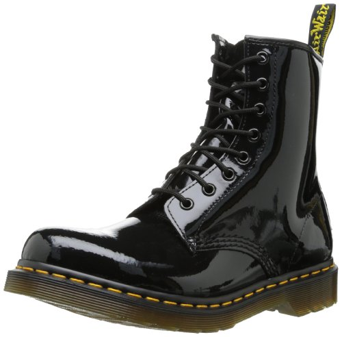Dr. Martens 1460 Smooth Stivaletti Stringati Unisex - Adulto Black smooth
