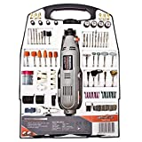Rotary Multi Tool Kit 135W with 234pc Accessory Set & Storage Case, Variable