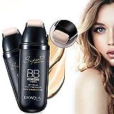 BB Cream, anti-invecchiamento crema idratante correttore con rullo a scorrimento per trucco viso(Ivory White Color)