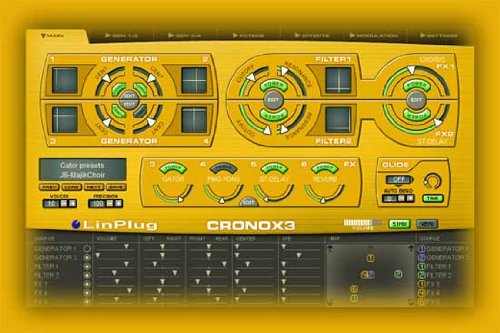 Linplug Cronox 3 - Software Sample Synthesizer For Mac Or Pc - Vst Or Audio Units [Import]