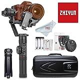 ZHIYUN Crane 2 (2018 Nouvelle Ver) Caméra Stabilisateur Gimbal avec Servo Follow Focus Gratuit, 3-Axes Handheld Stabilisateur pour DSLR caméras jusqu'à 3.2KG 18Hrs de Fonctionnem et écran OLED