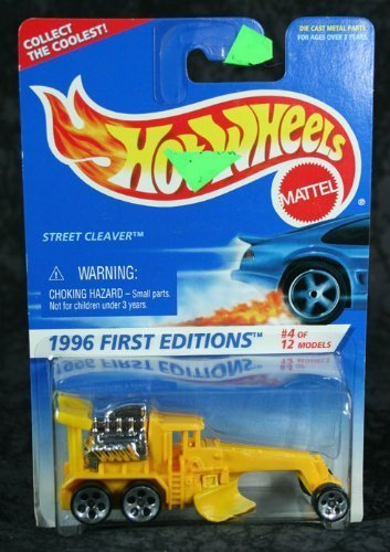 Hot Wheels 1996 Collector #373 Street Cleaver 1/64 by Hot Wheels 1 Cleaver