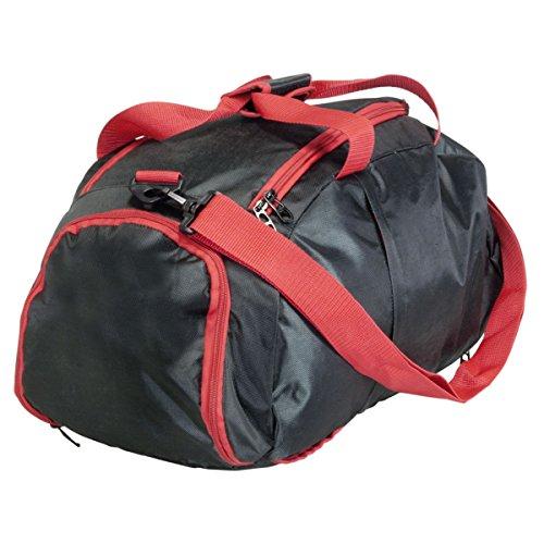 Sporttasche Sportrucksack 40L Rucksack Tasche Reisetasche verschiedene Farben, Farbe:orange rot