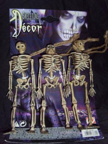 WIDMANN S.R.L., 3 Skeletons (Kostüme Ideen Halloween Für Drei)