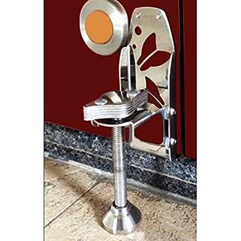 Door Jammer Portable Door Brace for Door Security Strong Metal Body for All In-opening Doors with 3 mm to 1.5 cm Clearence  sc 1 st  Amazon UK & Door-Jammer Portable Door Security Device: Amazon.co.uk: DIY u0026 Tools