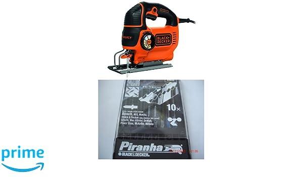 Piranha X29240-XJ Lames pour scie sauteuse Hi Tech Set de 10 Pi/èces Gris