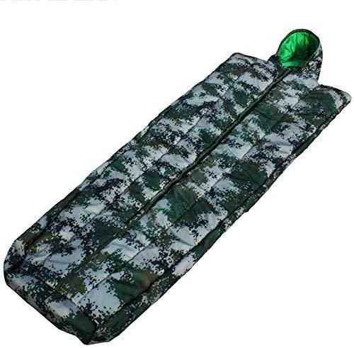 Camping Schlafsack Einzel geeignet für Innen und Außen Tragbar Dicke Wärme 1yess