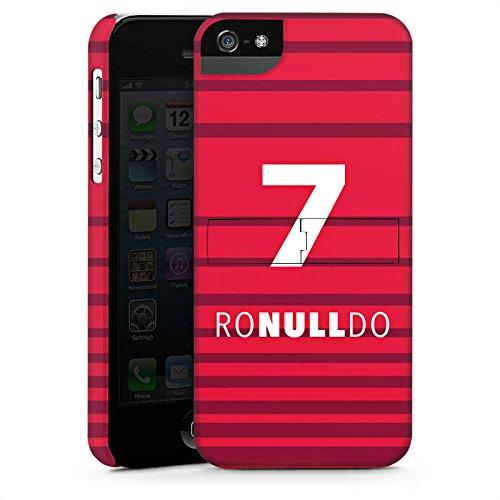Apple iPhone 7 Silikon Hülle Case Schutzhülle Fußball Christiano Ronaldo Humor Premium Case StandUp