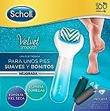 Scholl Velvet Smooth Pack Lima Electrónica con Cabezal Exfoliante + 3 recambios