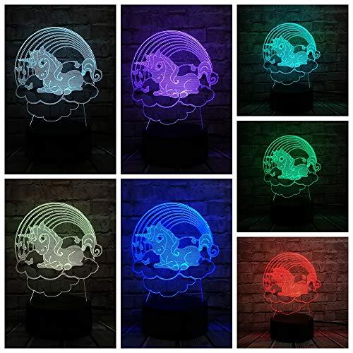 pe Kawaii Kid Nachtlicht Weihnachtsdekoration Für Home Rgb LED Birne Luminaria Teig Spielzeug Tabelle ()
