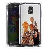 DeinDesign Samsung Galaxy S5 Mini Silikon Hülle Case Handyhülle Selbst Gestalten Personalisieren Zum Anpassen