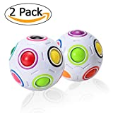 ThinkMax Magic Rainbow Ball, Cubo Inteligente de Velocidad 3D Puzzle,...