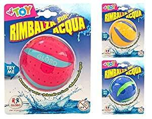 GLOBO- Splash Ball 7.5cm diam 3 Col (39249), (1)