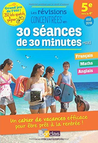 Prêt pour la rentrée! 5e vers la 4e- Cahier de vacances par Antoine Lambermont