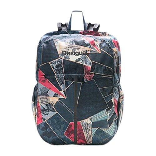 Rucksack von Desigual 17WXRW06 Schüsseln Light Denim Backpack 5188 Legion