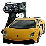 MJX RC Auto Lamborghini Gallardo Superleggera Pistolenfernbedienung Modellauto Größe: 32 cm mit Lichtfunktion