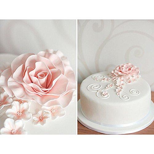display086PCS Rose Flower Fondant Cake Mould Sugarcraft Cookie Gum Form Paste Cutter - Molds Moulds Silikon