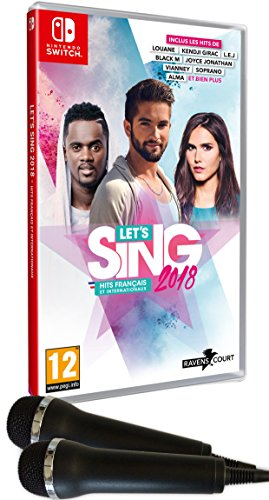Let's Sing 2018 Hits Français et Internationaux avec 2 microphones