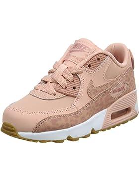 Nike Air MAX 90 Se LTR (PS), Zapatillas de Gimnasia para Niñas